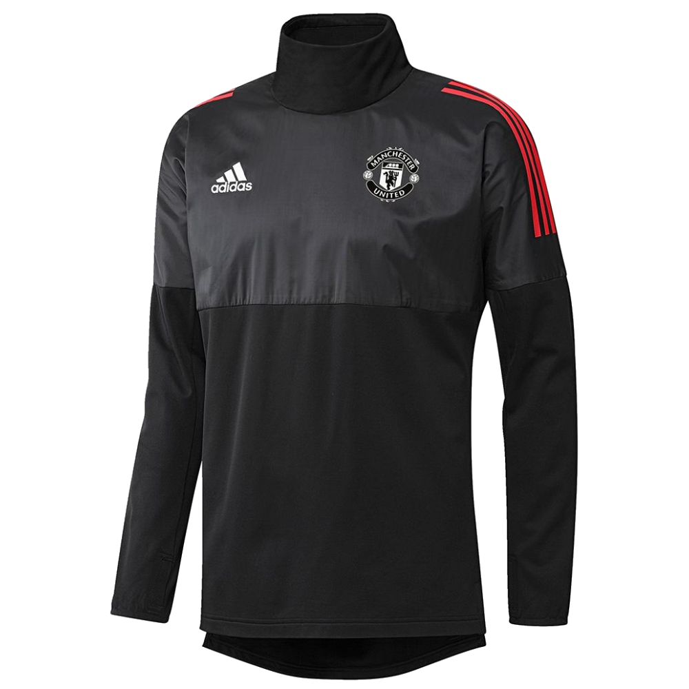 training top manchester united hybrid adidas 2017 18. Black Bedroom Furniture Sets. Home Design Ideas