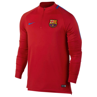 Sudadera FC Barcelona Nike rojo