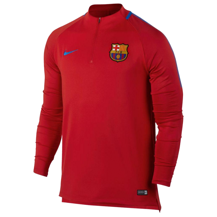 Training top FC Barcelone Nike rouge