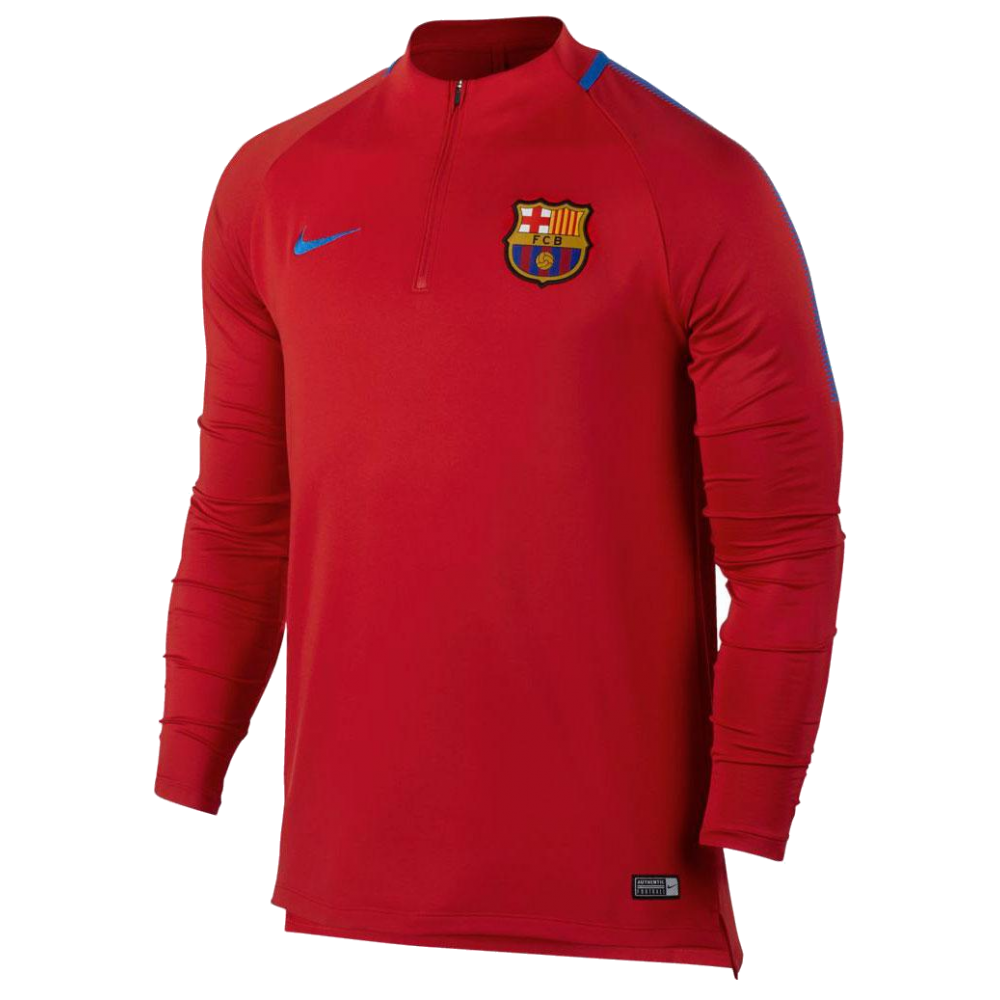 Training top FC Barcelona Nike red 425ded7920fe7