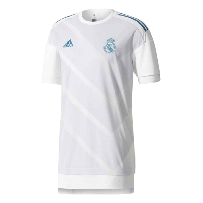 Camiseta calentamiento Real Madrid Adidas