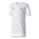 Camiseta calentamiento Real Madrid Adidas