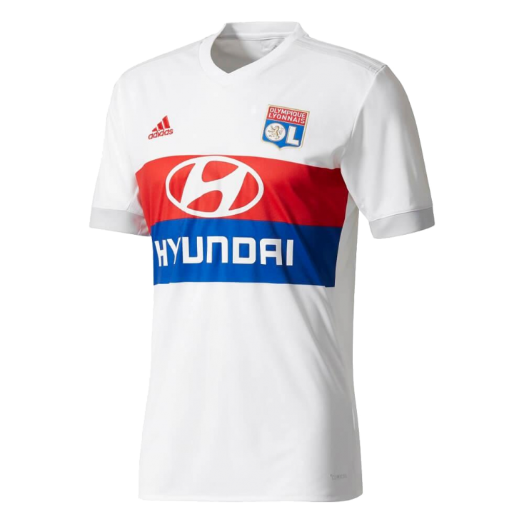 Maillot OL domicile 2017-18 ADIDAS