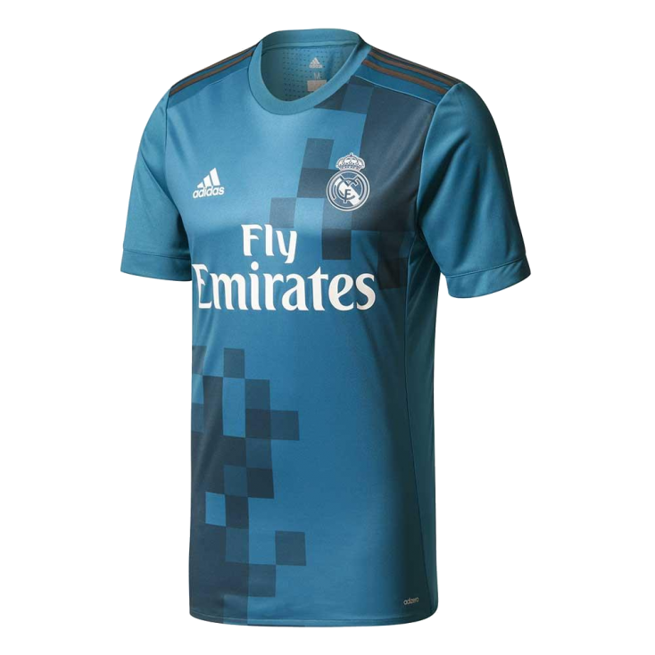 Shirt Real Madrid third 2017-18 ADIDAS