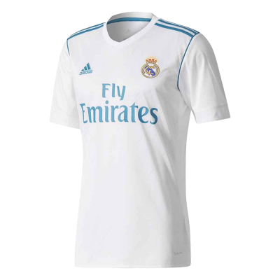 Camiseta Real Madrid domicilio 2017-18 ADIDAS niño