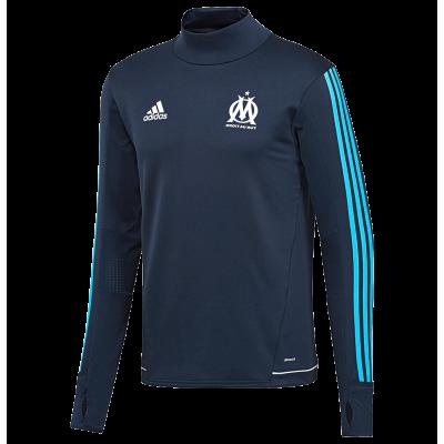 Training top Marseille Adidas 2017-18 black