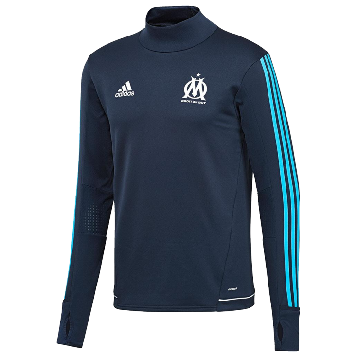 Training top OM Adidas 2017-18 noir