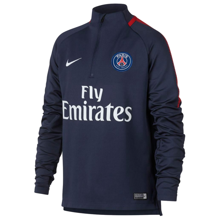 official photos ce2ea 57957 Training top PSG Nike kid
