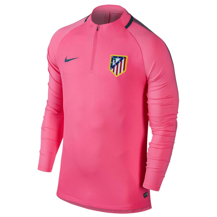 Training top Atletico Madrid Nike rose