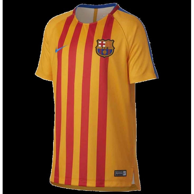 Camiseta entrenamiento FC Barcelona niño NIKE