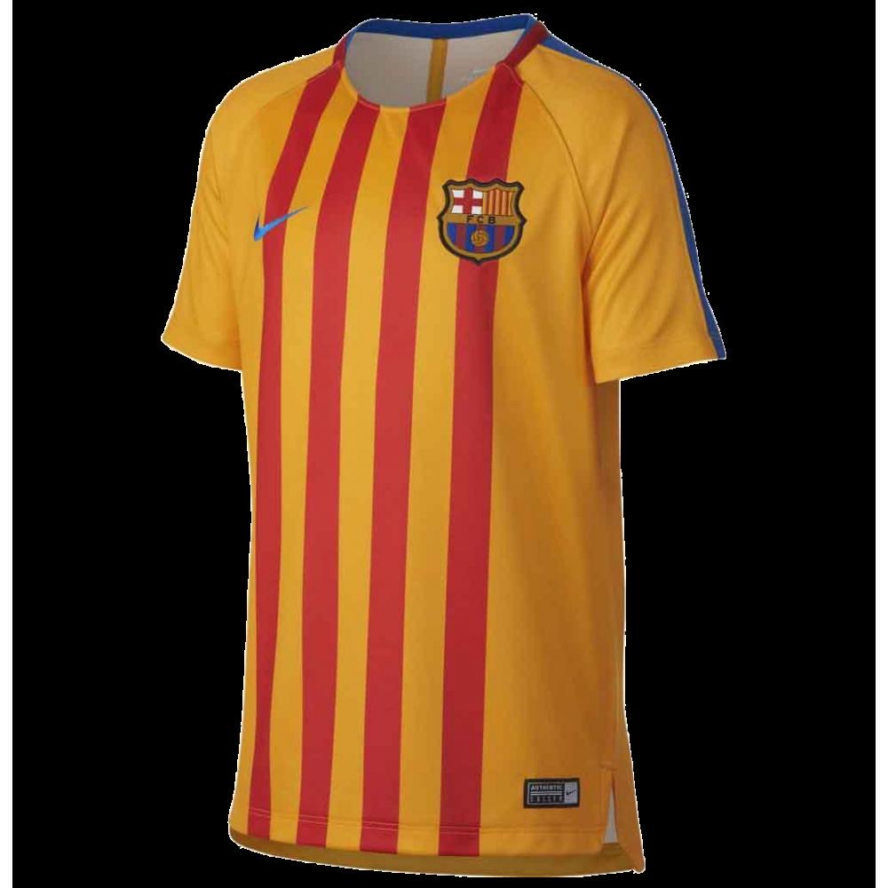 Camiseta entrenamiento FC Barcelona niño NIKE c8b390e6435
