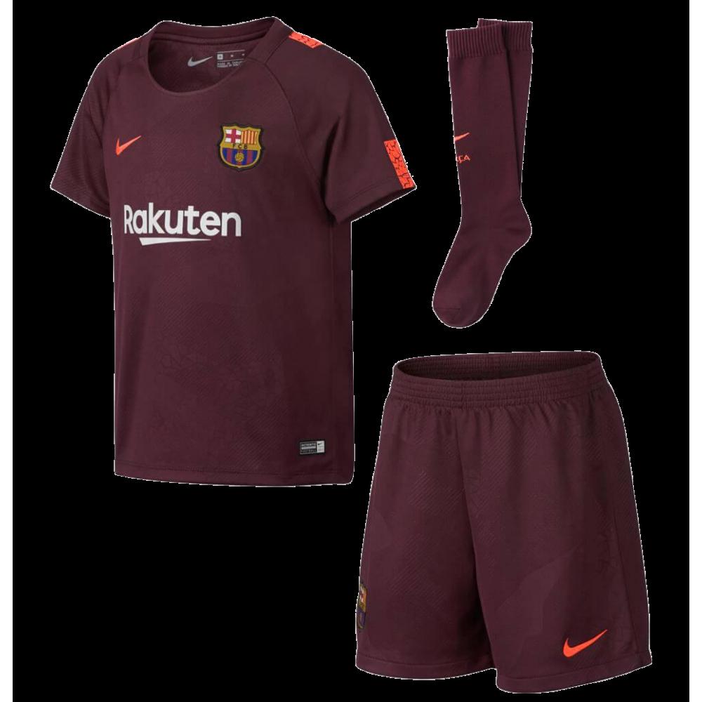 4b9fd6e50fc Mini kit FC Barcelona third NIKE