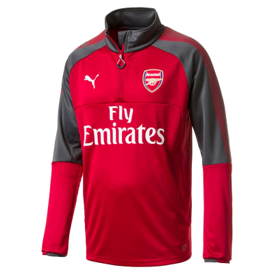 Training top Arsenal Puma rojo niño