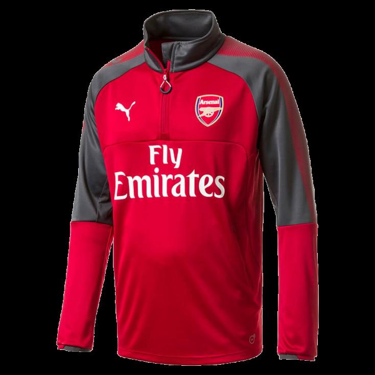 Training top Arsenal Puma rouge