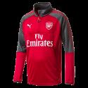 Training top Arsenal Puma rojo niño