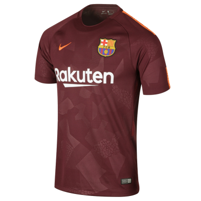 Maillot FC Barcelone third 2017-18 Nike junior