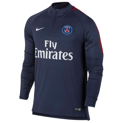 Training top PSG Nike bleu marine
