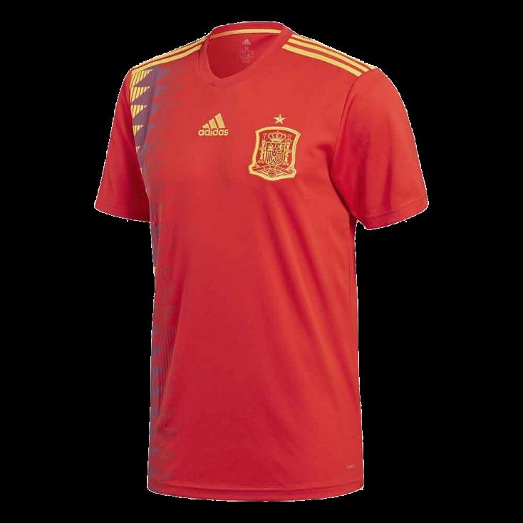 Shirt Spain home 2018 ADIDAS