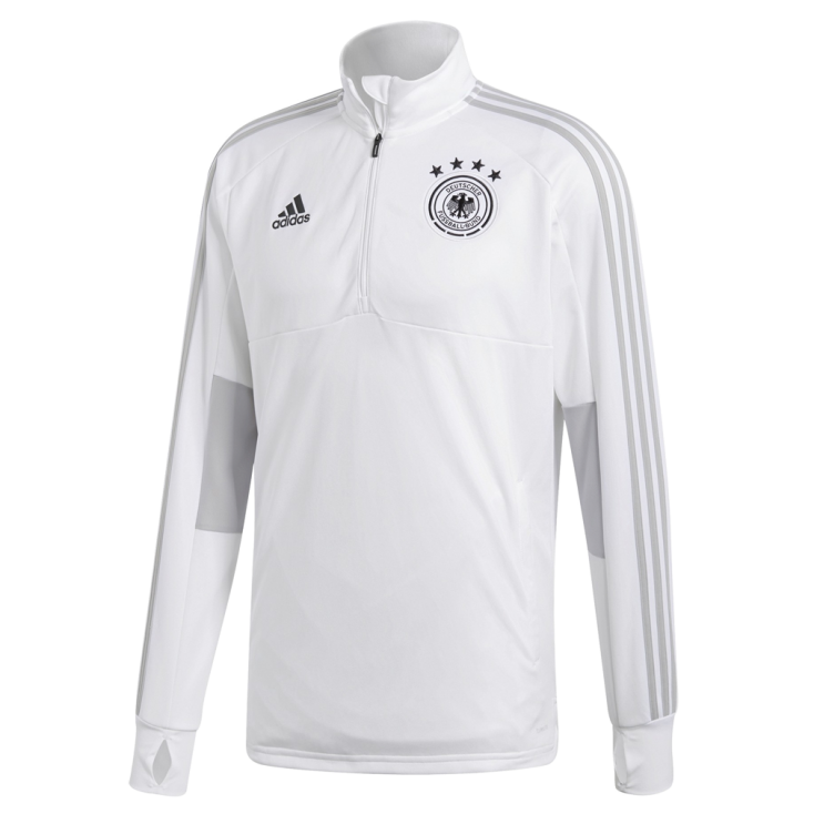 Training top Allemagne blanc Adidas