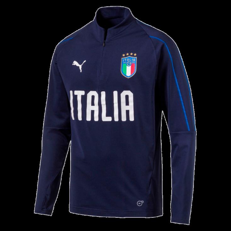 Sweat Italie bleu marine PUMA 2018