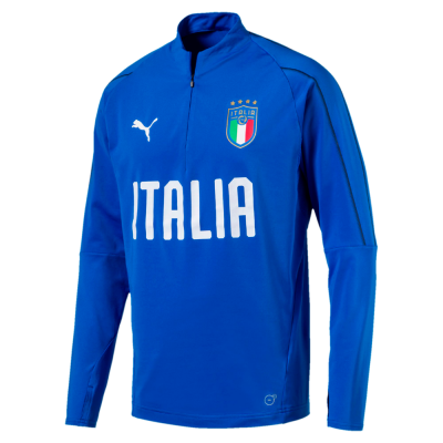 Sweat Italie bleu PUMA 2018