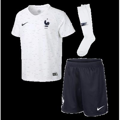 Mini kit France blanc 2018 NIKE