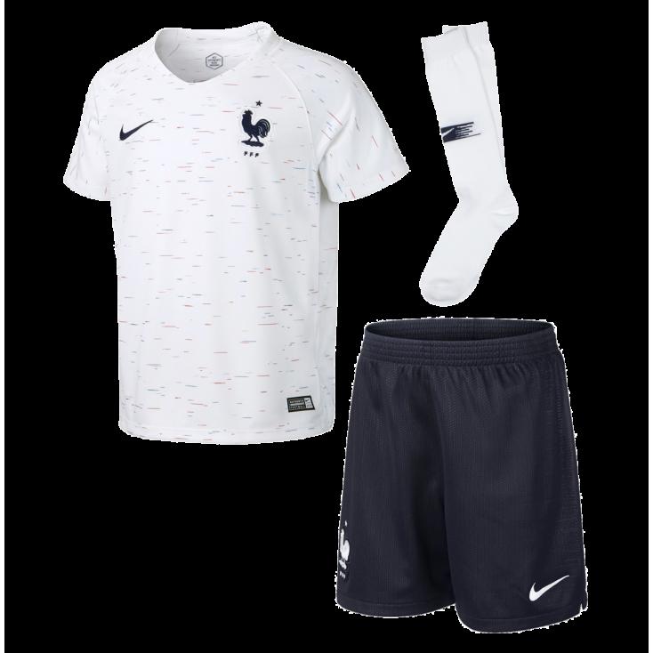 Kit France white 2018 NIKE