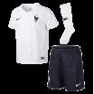 Mini kit Francia blanco 2018 NIKE