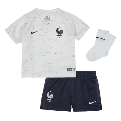 Kit baby France white 2018 NIKE