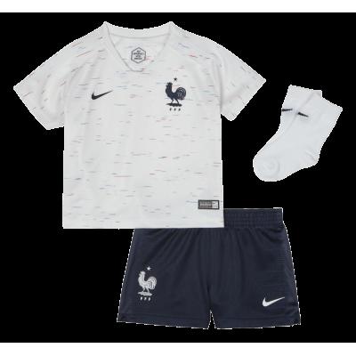 Mini kit bébé France blanc 2018 NIKE