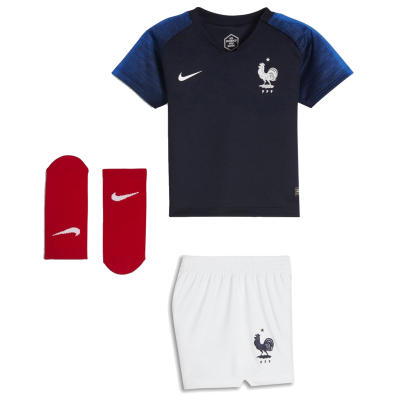 Mini kit bebe Francia domicilio 2018 NIKE