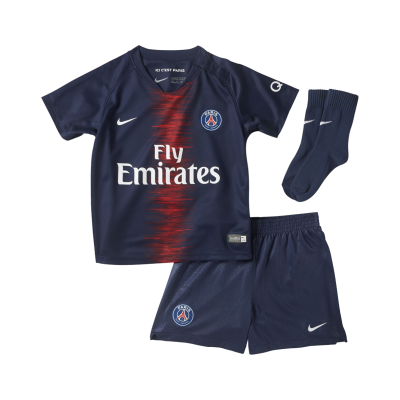 Mini kit bebe PSG domicilio 2018-19 NIKE