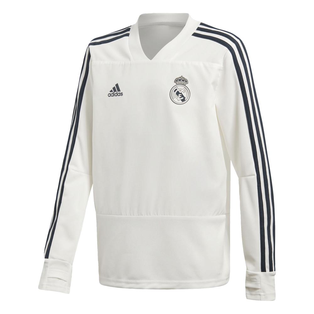 Training top Real Madrid Adidas 2018-19 junior 7772f6c381b0a