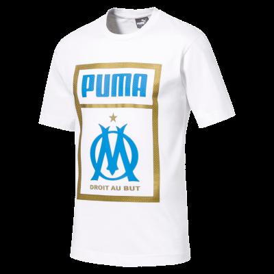 Tee shirt OM fan Puma white
