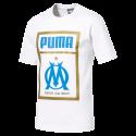 Tee shirt OM fan Puma blanc