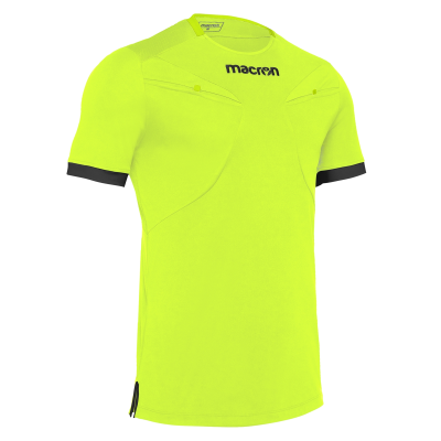 Camiseta de árbitro MACRON amarillo 2018-20
