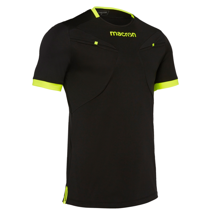 Referee shirt MACRON black 2018-20