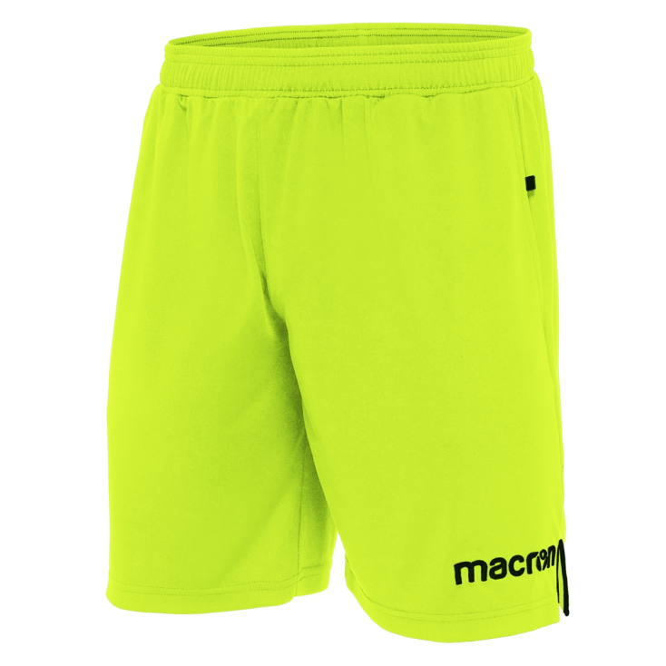 Short referee MACRON yellow 2018-20