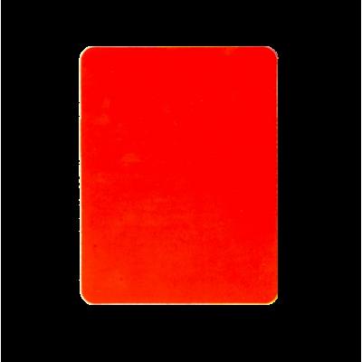 Tarjeta de arbitro roja