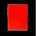 Carton d' arbitre rouge