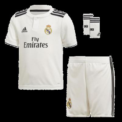 Mini kit Real Madrid domicilio Adidas