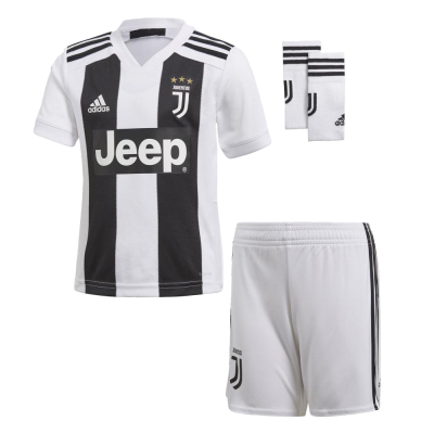 Mini kit Juventus domicile 2018-19 Adidas