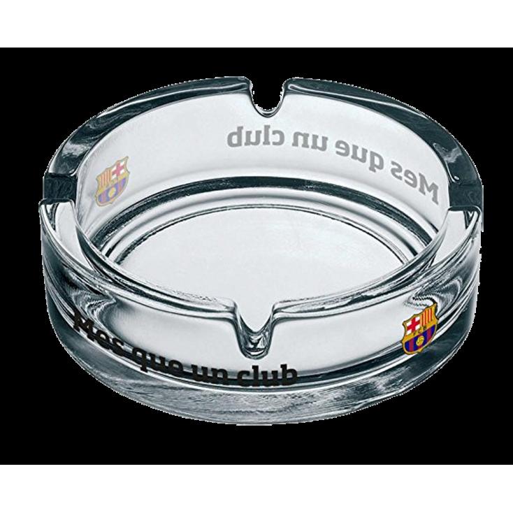 Cendrier en verre FC Barcelone