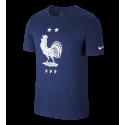 Tee shirt France deux étoiles Nike