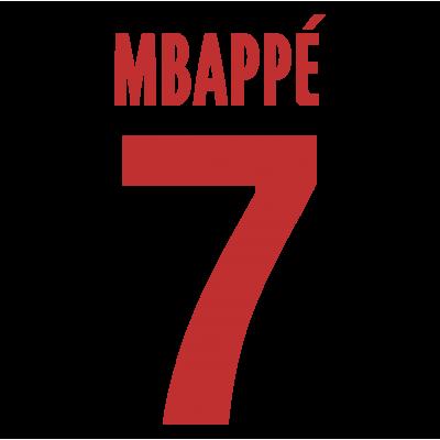 Flocage MBAPPÉ 7 PSG