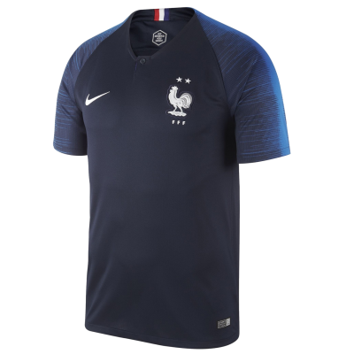 Football shirt France home 2 stars NIKE