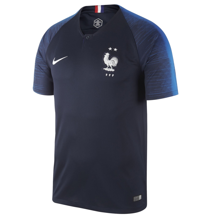 Football shirt France home 2018 NIKE