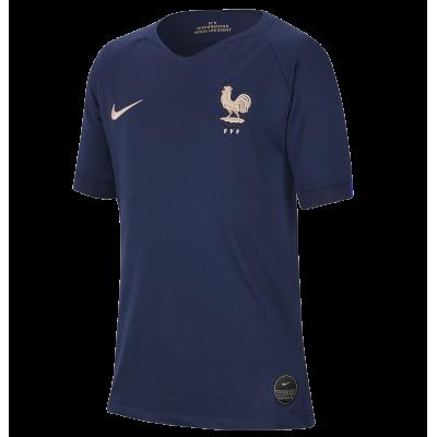 Camiseta Francia domicilio NIKE niño