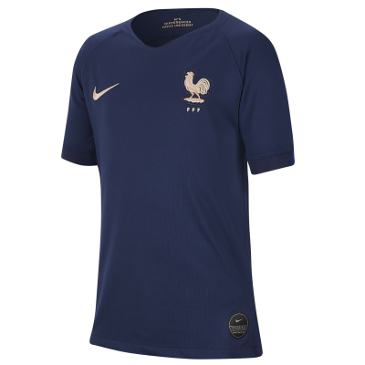 Football shirt France home NIKE kid