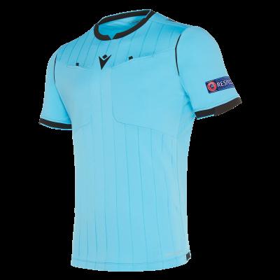 Camiseta de árbitro UEFA azul